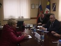 Начальник Крымфиннадзора Антон Кальков  провел личный прием граждан в Добровском сельском поселении